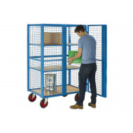 Heavy Duty Lockable Distribution Truck