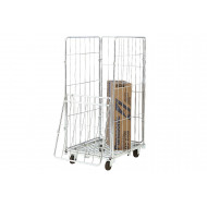 Demountable 4 Sided Rolcontainer With Half Drop (500kg Capacity)