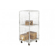 Demountable Security Rolcontainer With Removable Shelf (500kg Capacity)