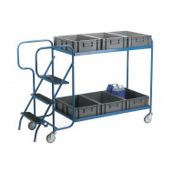 Order Picking Trolley For Containers (250kg Capacity)