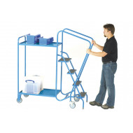 Fort Gs Approved Order Picking Trolley With 2 Trays (250kg Capacity)