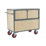 Wooden Security Box Trolley (500Kg Capacity)