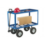 Two Tray Platform Truck (150kg Capacity)