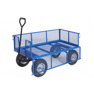 General Purpose Platform Truck With Mesh Base, Sides And Ends (400kg Capacity)