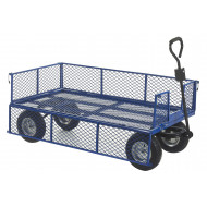 Industrial General Purpose Truck With Mesh Base And Sides (500kg Capacity)