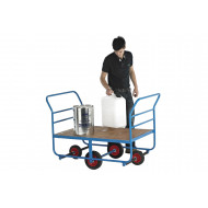 Plywood Decked Balance Truck (350kg Capacity)