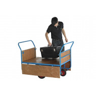 Plywood Decked Balance Truck With Hinged Sides (350kg Capacity)