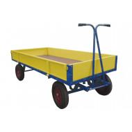 Hand Drawn Truck With Sides And Ends (750kg Capacity)