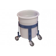 Blue Dolly To Suit Tapered Polyethylene Bins