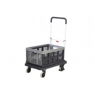 Foldaway Platform Truck With 1 Removable Folding Box (120kg Capacity)
