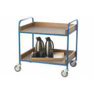 Canteen Trolley With Vinyl Trays (125kg Capacity)