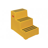 Heavy Duty Industrial Step With 3 Treads