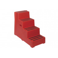Heavy Duty Industrial Step With 4 Treads