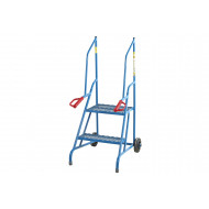 Fort Dock Step Ladders With Expanded Steel Treads