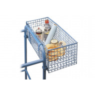Wire Mesh Basket For Fort Elite EN-131 Heavy Duty Mobile Platform Steps