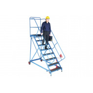 Fort Trojan Wide Tread Mobile Platform Steps