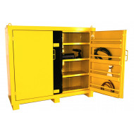 Wide Heavy Duty High Security Cupboards With 3 Shelves