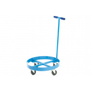 Blue Drum Dolly With Handle For 210ltr Drums