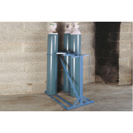 Tall Double Sided Cylinder Storage