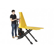 Electric High Lift Pallet Truck (1000kg Capacity)