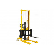 Hydraulic Stacker With Adjustable Fork
