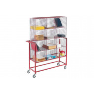 12 Compartment Mail Sorter