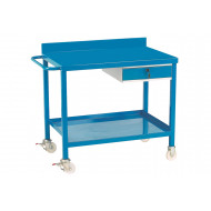 Mobile Workbench With Steel Top