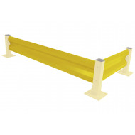 Barrier For Heavy Duty Barrier System (Yellow)