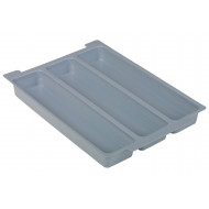 3 Compartment Insert For Gratnell Shallow Trays