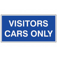 Visitors Cars Only External Information Sign