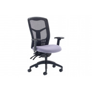 Saar High Mesh Back Operator Chair With Height Adjustable Arms