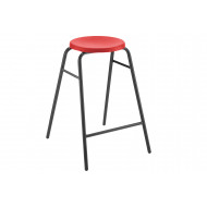 Hille Polypropylene Round Top Classroom Stool