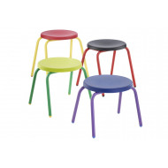 Hille Junior Height Round Top Stool