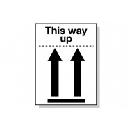 This Way Up Pictoral Marking Labels