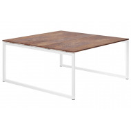 Next-Day Lasso Hooped Leg 6-8 Person Meeting Table (Rusted Steel)