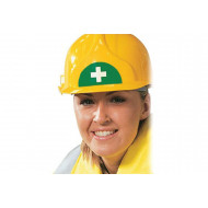 Sheet Of 12 First Aid Symbols For Hard Hats