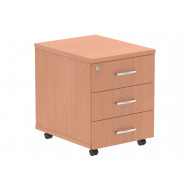 Vitali 3 Drawer Mobile Pedestal