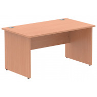 Vitali Panel End Rectangular Desk