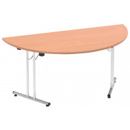 Vitali Semi Circular Folding Table