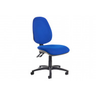 Gilmour High Back Fabric Operator Chair No Arms (Blue)