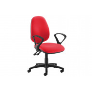 Gilmour High Back Operator Chair (Fixed Arms)