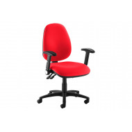 Gilmour High Back Operator Chair (Folding Arms)