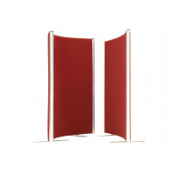 Borbera Acoustic Curved Floor Screens