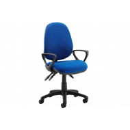 Next-Day Solar 3 Lever Operator Chair With Fixed Arms