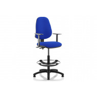 Lunar 2 Lever Draughtsman Chair (Adjustable Arms)