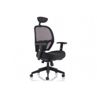 Dirillo Mesh Back Operator Chair With Headrest