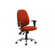 Sierra Pump Up Lumbar Operator Chair