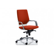 Russo Medium Back Executive Chair (White Shell)