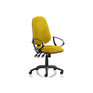 Lunar Plus XL Operator Chair (Fixed Arms)