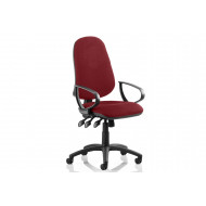 Haze High Back Operator Chair (Fixed Arms)
